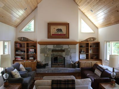 Photo for Huge Cabin For 1-3 Families In Lower Tahoe Donner