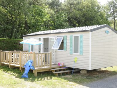 Photo for Mobile-Home in a 3-star campsite with a swimming pool