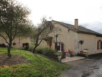 Photo for For a week-end, a week or more, this cottage is ideally located for exploring the Lomagne Gersoise and its villages and Castelnaux.