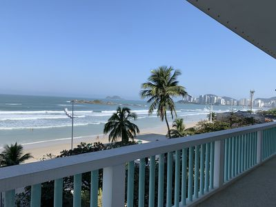 Photo for Only 4 beds Oceanfront in Pitangueiras / Guarujá