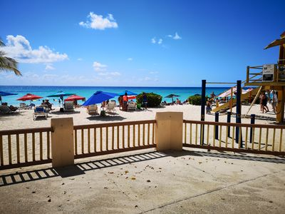Dover Beach just two minutes walk away