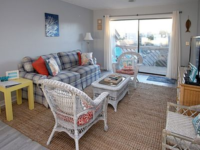 Photo for Shipwatch Pointe I #B312, 2BR Condo Steps Away From the Beach with Pool and Jacuzzi
