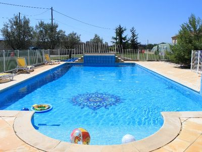 Photo for GITE GROUND FLOOR SWIMMING POOL AND CLOSE TO MT VENTOUX AND HISTORIC SITES