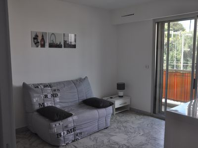 Photo for Bright studio flat moments away from the beach