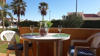 Apartment with Pool and Garden in the center of Albufeira, 10 min. from beach
