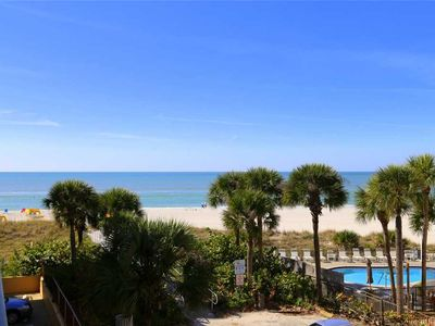 Photo for Updated Large Unit with Beach & Gulf Views from Balcony - Free Wifi