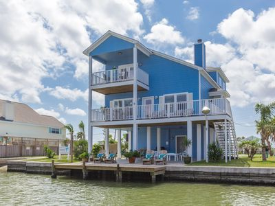 Photo for Coastal Class Waterfront/PrivateHeated Pool/Boat Launch/Lighted Fishing Dock/4BR