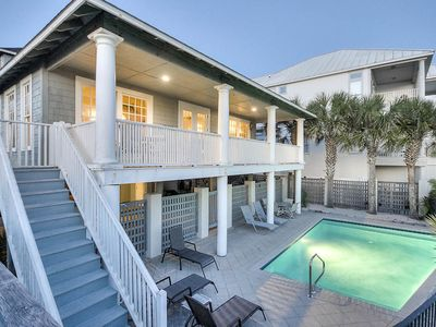 Photo for Gulf-Front Home in Seagrove w/ Private Pool! 20% OFF September Stays!