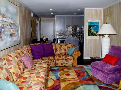 Photo for 2 BR, 1.5 BA Oceanview Condo at Family Friendly Complex!