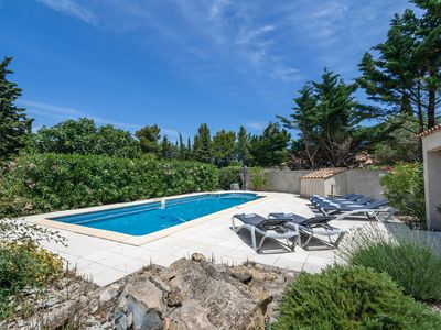 Photo for 3BR Villa Vacation Rental in Soleil d'Oc (Pouzols Minervois)