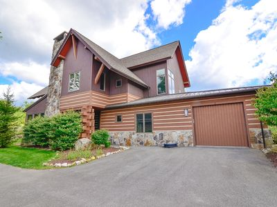 Photo for Ski In/Ski Out Chalet w/Hot Tub, Gas Fireplace, & Shared Fire Pit!