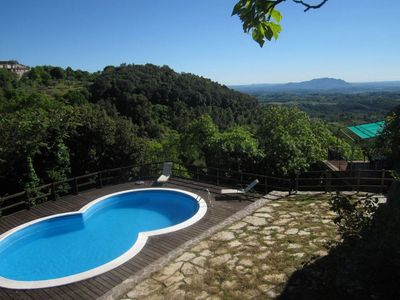Photo for Villa with pool and spectacular views in Montasola
