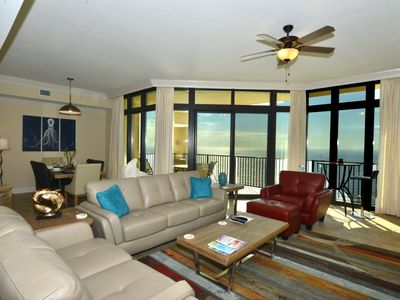 Photo for Phoenix West II 3BR/4BA Gulf Facing, Large, All Tiled Luxury Condo,