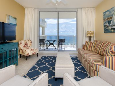 Photo for Beachfront Condo - 3 bed/3 bath in Beach Club Resort 7th floor view