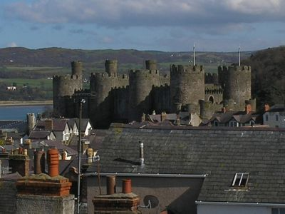 Photo for Holiday cottage within medieval walled town of Conwy North Wales