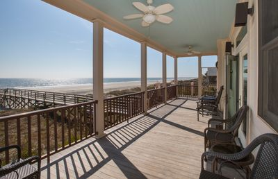 Photo for Blue Waters Beachfront 5 BR private beach access