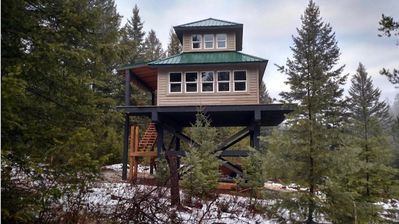 Photo for Fire Lookout Tower - One Bedroom Apartment, Sleeps 4