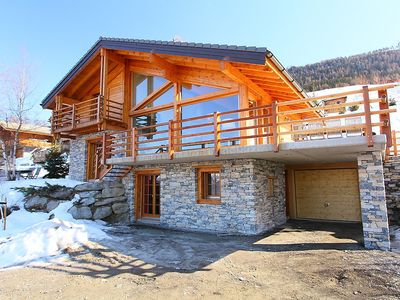 Photo for House 101 m from the center of Nendaz with Parking, Internet, Washing machine, Balcony (312867)