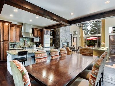 Photo for Luxury Townhouse 140 on Whitefish Mountain Resort, steps away from hiking trails