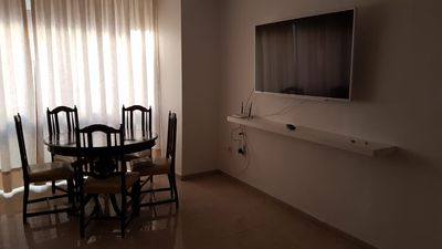Photo for Large apartment 200 meters from the beach, wifi and comfort