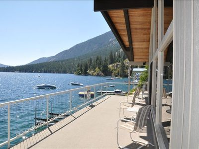 Photo for Lake Chelan: Spectacular Waterfront Home with Private Dock