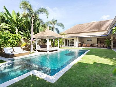 Photo for ❤-35% ❤️7 minutes BEACH❤️12M POOL❤️SEMINYAK | 3BR | | WIFI | STAFF | SUNDECK
