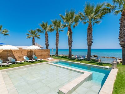 Photo for Gaia Deluxe SeaFront Villa, with Private Pool & Direct Access to the Beach