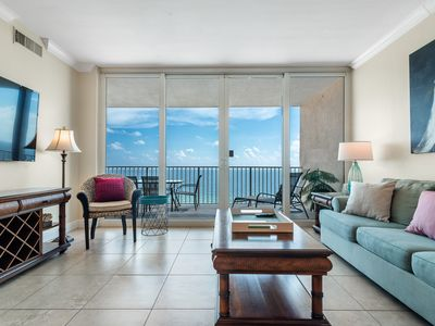 Photo for San Carlos 1505- Beach Front Views from Terrace with Luxurious Interior!