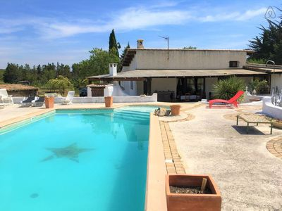 Photo for HOUSE IN LA GARRIGUE - PRIVATE POOL & PARKING