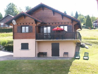 Photo for Beautiful cottage view of the lake near the quiet ski slopes 4 people