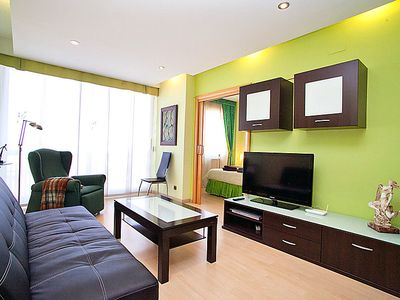 Photo for 4 bedroom Apartment, sleeps 6 in Barcelona with WiFi