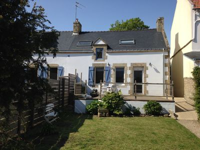 Photo for House with enclosed garden in the village of La Trinite Sur Mer - 5 persons