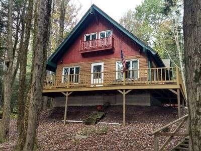 Photo for 2BR Cabin Vacation Rental in Lakewood, Pennsylvania