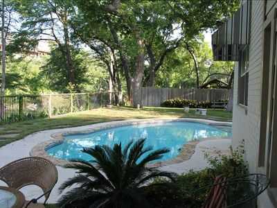Photo for Luxurious Home in Gruene on Guadalupe Riverfront with Pool