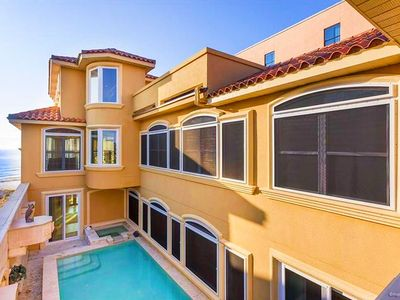 Photo for Vista del Mare beach front home. Check out our millon dollar views!