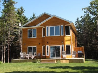 Photo for Large oceanfront family friendly cottage, centrally located in P.E.I