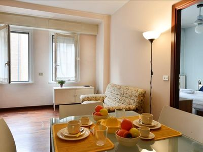 Photo for Bright 1bdr close to Piazza Gambara