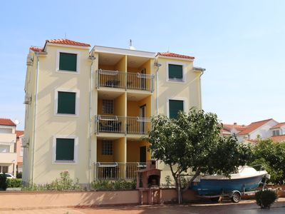 Photo for Ap Marina A4 in Srima, 150 m to the beach, 3-4 people, sea view, free WiFi