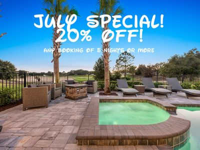Photo for 💥 20% OFF JULY SPECIAL 💥 8 bdrm Luxury Entertainment Mansion 💥