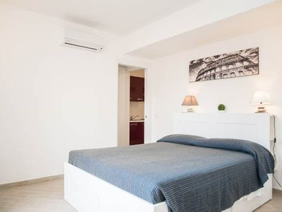 Photo for Apartments in residence with swimming pool and sports center, near the sea and Rome