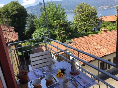 Photo for Titta apartment with lake view in Verbania Suna