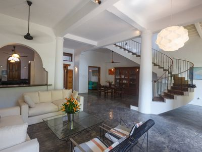 Photo for Villa in a Stunning Location Galle Fort with 180-degree views of Indian Ocean