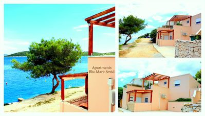 Photo for APARTMENT FOR 4 PEOPLE, JUST 10 METERS FROM BEACH