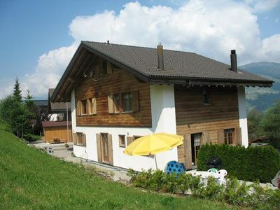 Photo for Holiday cottage Obersaxen for 8 - 10 people with 3 bedrooms - Holiday home