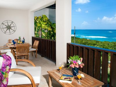 "Photo for Fountain Anguilla by ""Refined Retreats""~Shoal Bay Beach-King Bed, Full Kitchen, Amazing Views!"