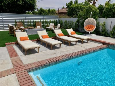 Photo for Chic Spanish 4Bedroom/3Bath Pool Home in Palm Springs
