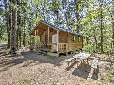 in northern cottage forest rentals county crandon cabins cabin lakeside wisconsin resorts