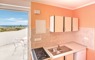 Photo for Apartment in the center of Peroj with Internet, Air conditioning, Terrace (447624)