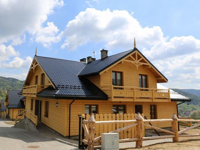 Photo for Luxury apartment with mountain views. Close to the center and the SKI complex.