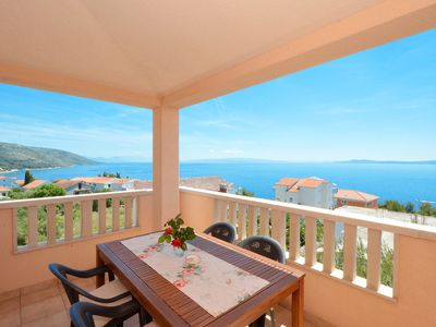 Photo for NADA 2 Apartment with beautiful sea view, for 5 + 1 persons